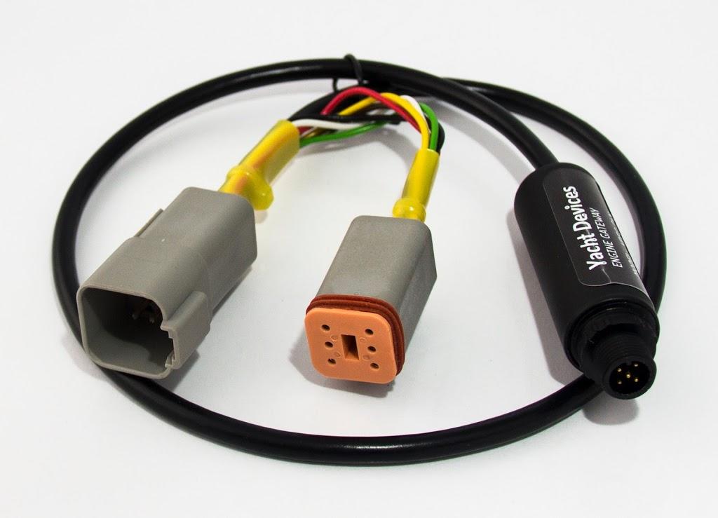 YDEG-04 konwerter danych VolvoPenta J1939 do NMEA 2000