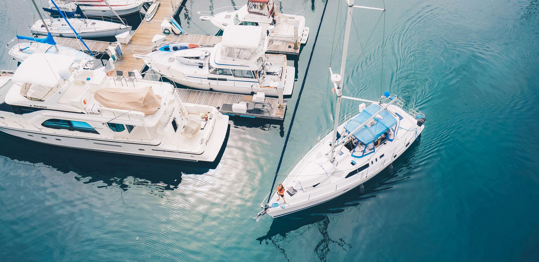 Firmowa łódź testowa